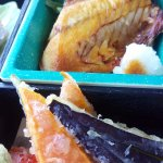 delicious tempura and grilled fish