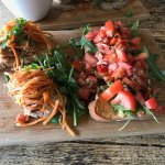 Pulled Pork Taps and Bruscetta