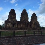 Khmer temple in the middle of Lopburi town