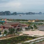 View of Pagoda and Bay from Balcony