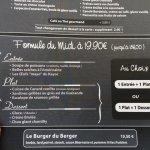 Formule du déjeuner à 19,90€