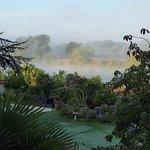 Misty September morning