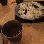 Rice crisps with Rasam