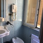 Small room for double had toilet, room for triple had bidet