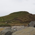 Dinas Dinlle Iron Age fort and beach