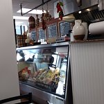 Front of deli counter