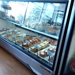 One of the deli cases