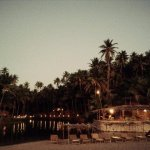 Dwarka Goa as seen from the Sea Shore