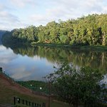 View across the river from Cinnamon Kandy.