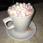 Amazing hot chocolate. No skimping with the marshmallows here 😀