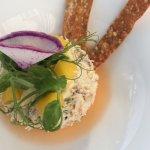 Lovely crab salad