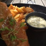 Fish and chips such a light batter