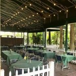 Beautiful pet friendly patio Available for dining and private functions