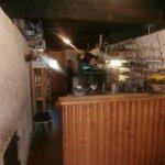 Bar e cucina della malga