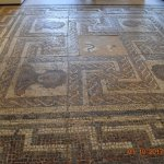 Roman tessellated floor that you can walk over