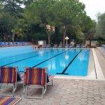 Großer, sauberer Pool