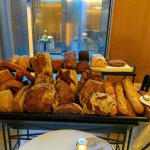So much bread to choose from. And the cart came by multiple times during our meal.