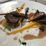 Veal cheeks with parsnips