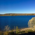 Autumn is a great time to see deep blue skies and golden hills along the Saint John River. These