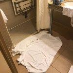 Shower issue leaking all over bathroom floor