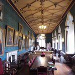 Hall with portraits