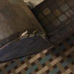 Dirty worn sofa