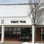 First Wok is at Unit #1 in the Southfield Shopping Mall.  End Unit, Side Facing Princeton-Hights