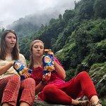 Waterfall hike in Dharmsala