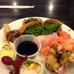 Baby Octopus and sushi treats