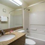 Super 8 Flagstaff Guest Room Restroom