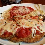 my usual eggplant parm...the best around!