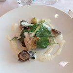 poisson aux escargots excellent