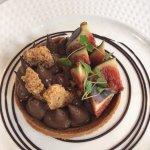 tartelette chocolat et figues fraîches