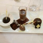Dessert tout chocolat, superbe!!!