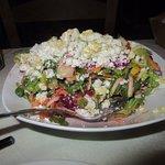 Mediterranean Salad At The Octopus Tree, Ios