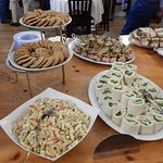 Sandwich and side buffet for the class of 67.