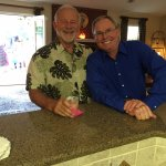 Rob Sorich and Charlie Blalock