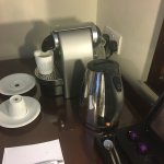 Expresso machine in the executive room