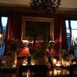 Intimité et lumières du dîner...