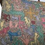 Keith Haring work near hotel