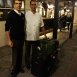 The Hotel Porters were very helpful in carrying my luggage.