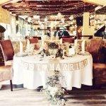 Unser wunderschöner Vintage Hochzeitstisch :-)