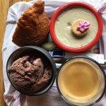 Desserts accompagnant un café gourmand