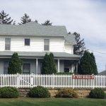 "Farmhouse where ""Field of Dreams"" was filmed."