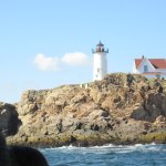 Nubble Lighthouse from the boat