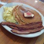 Cornmeal Pancake Combo