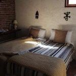 Slaapkamer van de Globies Inn