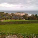 View across gardens to St Ives