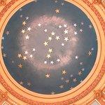 Stars at the top of the Rotunda