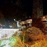 Cherokee Grill at night.